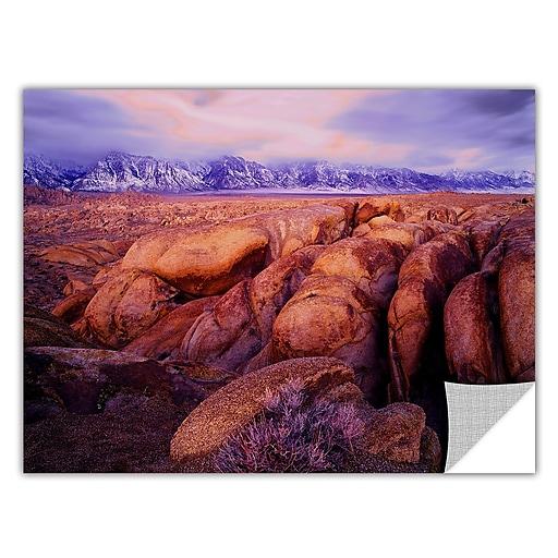 """ArtWall 'Sierra Dawn Storm Light' Art Appeelz Removable Wall Art Graphic 14"""" x 18"""" (0uhl064a1418p)"""