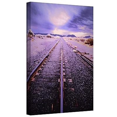 ArtWall 'Vanishing Point Arizona' Gallery-Wrapped Canvas 24