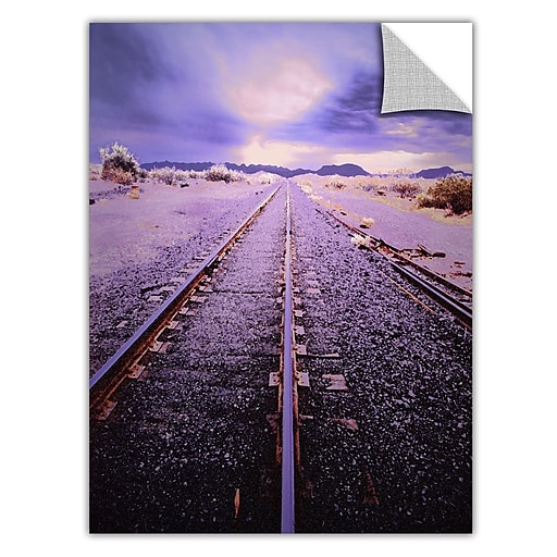 "ArtWall 'Vanishing Point Arizona' Art Appeelz Removable Wall Art Graphic 24"" x 32"" (0uhl067a2432p)"