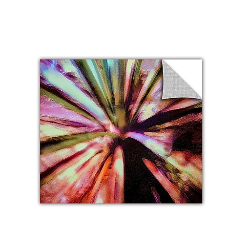 "ArtWall 'Agave Glow' Art Appeelz Removable Wall Art Graphic 18"" x 18"" (0uhl069a1818p)"