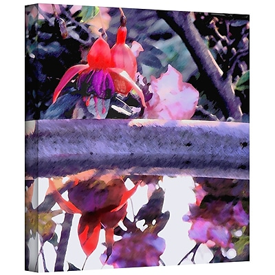 ArtWall 'Birdbath' Gallery-Wrapped Canvas 18