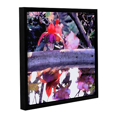 ArtWall 'Birdbath' Gallery-Wrapped Canvas 36