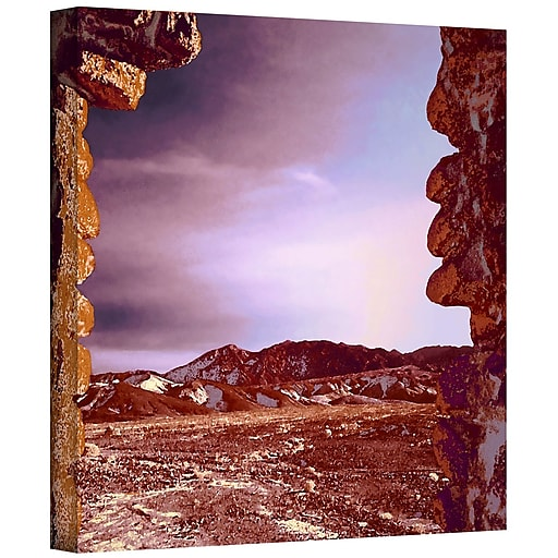 "ArtWall 'Borax Ruins' Gallery-Wrapped Canvas 14"" x 14"" (0uhl071a1414w)"
