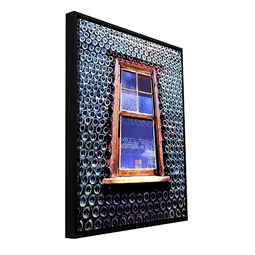 "ArtWall 'Calico' Gallery-Wrapped Canvas 18"" x 24"" Floater-Framed (0uhl072a1824f)"