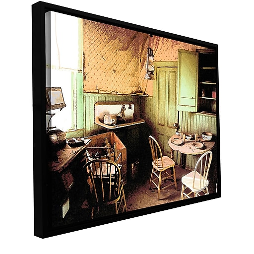 "ArtWall ""Ghost Kitchen"" Gallery-Wrapped Canvas 36"" x 48"" Floater-Framed (0uhl075a3648f)"