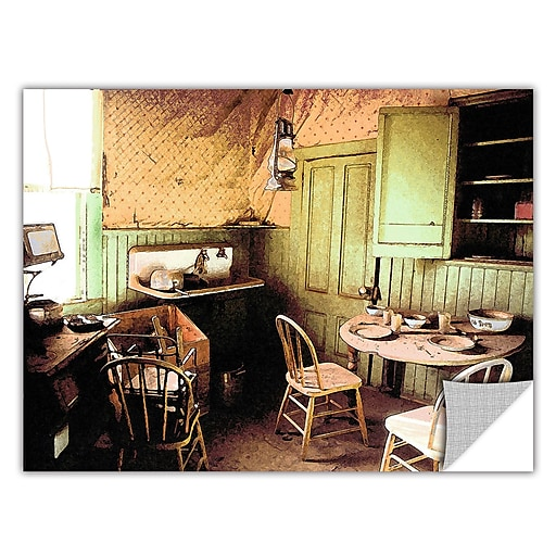 """ArtWall 'Ghost Kitchen' Art Appeelz Removable Wall Art Graphic 18"""" x 24"""" (0uhl075a1824p)"""