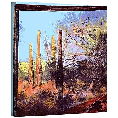 ArtWall 'Ghost Ranch 2' Gallery-Wrapped Canvas 36