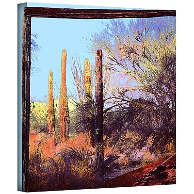 ArtWall 'Ghost Ranch 2' Gallery-Wrapped Canvas 24