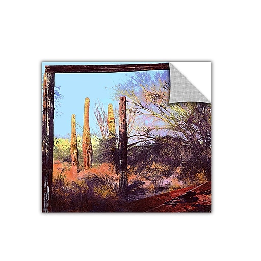 "ArtWall 'Ghost Ranch 2' Art Appeelz Removable Wall Art Graphic 24"" x 24"" (0uhl076a2424p)"