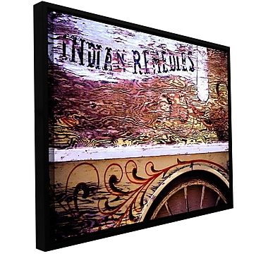ArtWall 'Indian Remedies' Gallery-Wrapped Canvas 18