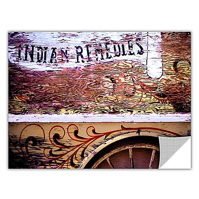 ArtWall 'Indian Remedies' Art Appeelz Removable Wall Art Graphic 24