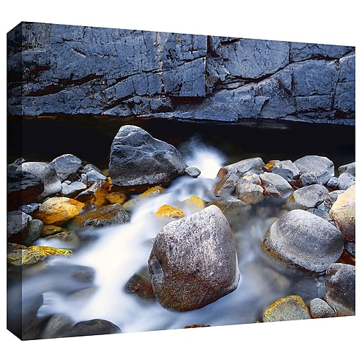 "ArtWall 'Kings River' Gallery-Wrapped Canvas 14"" x 18"" (0uhl079a1418w)"
