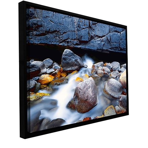 """ArtWall 'Kings River' Gallery-Wrapped Canvas 36"""" x 48"""" Floater-Framed (0uhl079a3648f)"""