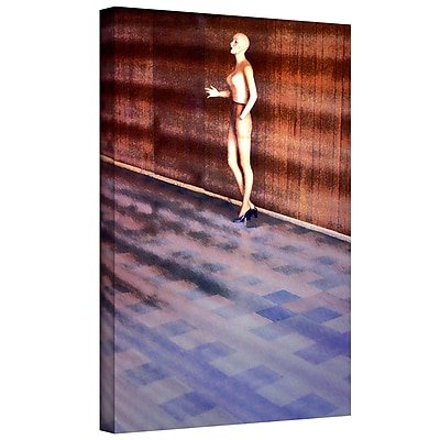 ArtWall 'Mandatory Retirement' Gallery-Wrapped Canvas 24