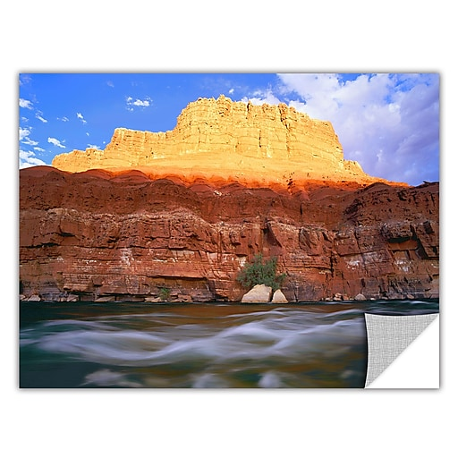 "ArtWall ""Marble Canyon Sunset"" Art Appeelz Removable Wall Art Graphic 14"" x 18"" (0uhl081a1418p)"