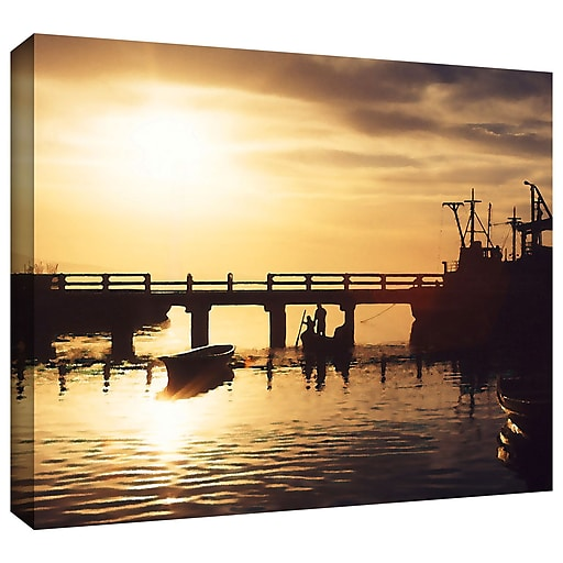 "ArtWall 'Mazatlan Morning' Gallery-Wrapped Canvas 14"" x 18"" (0uhl082a1418w)"