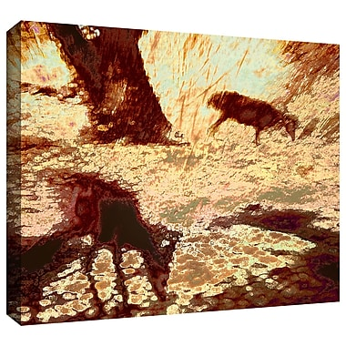 ArtWall 'Morning Deer' Gallery-Wrapped Canvas 14