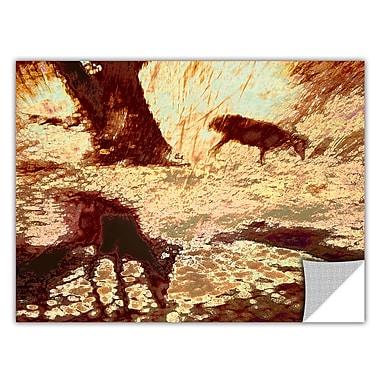 ArtWall 'Morning Deer' Art Appeelz Removable Wall Art Graphic 14