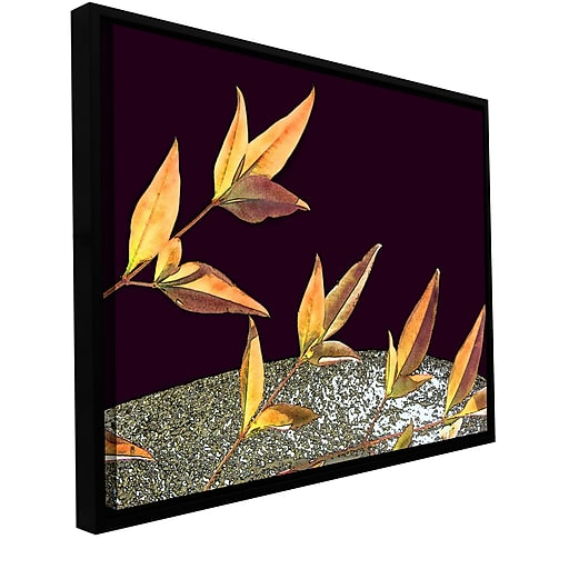 "ArtWall 'Natural World' Gallery-Wrapped Canvas 24"" x 32"" Floater-Framed (0uhl086a2432f)"