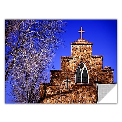 ArtWall 'Navajo Church' Art Appeelz Removable Wall Art Graphic 36