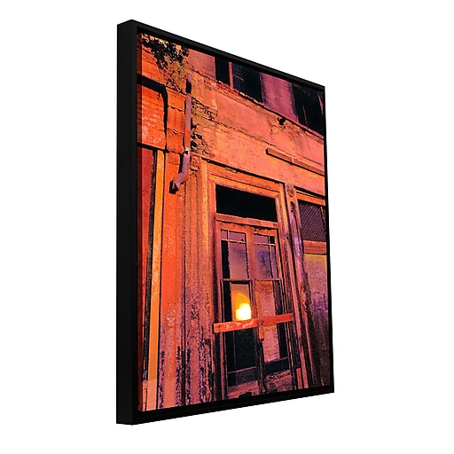 """ArtWall """"Old Sacramento"""" Gallery-Wrapped Canvas 24"""" x 32"""" Floater-Framed (0uhl089a2432f)"""