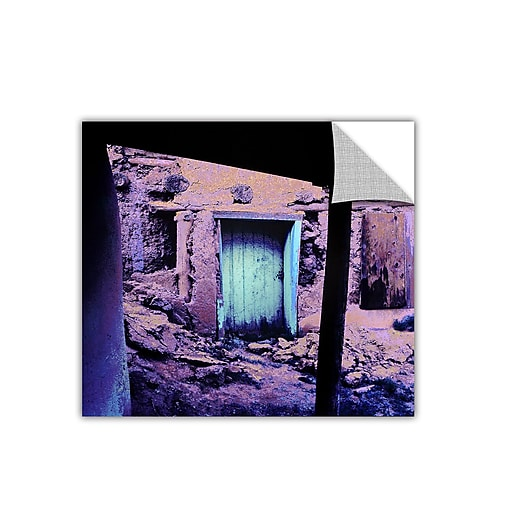 "ArtWall 'Past Through The Door' Art Appeelz Removable Wall Art Graphic 18"" x 18"" (0uhl091a1818p)"