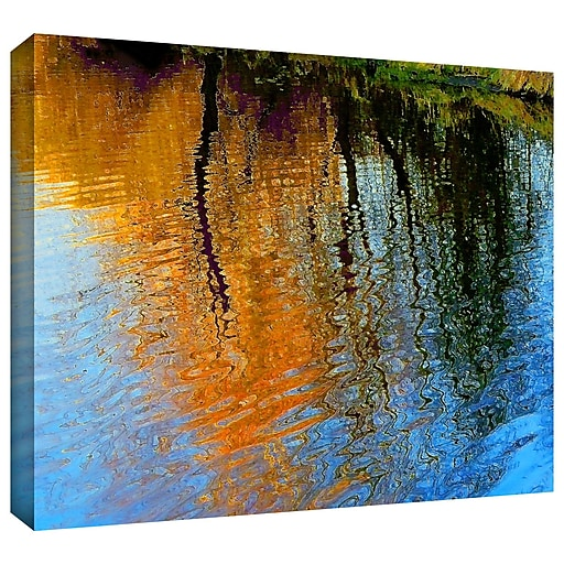 """ArtWall """"Rogue Reflections"""" Gallery-Wrapped Canvas 18"""" x 24"""" (0uhl095a1824w)"""