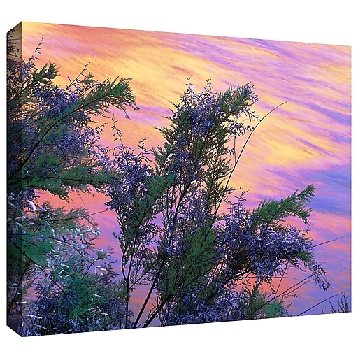 """ArtWall 'Sandstone Reflections' Gallery-Wrapped Canvas 24"""" x 32"""" (0uhl096a2432w)"""