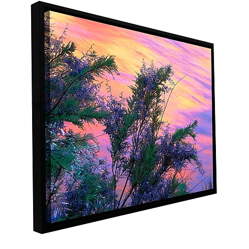 "ArtWall ""Sandstone Reflections"" Gallery-Wrapped Canvas 18"" x 24"" Floater-Framed (0uhl096a1824f)"