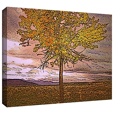 ArtWall 'Teton Meadow Fall' Gallery-Wrapped Canvas 18