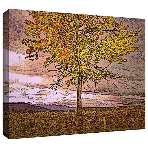 "ArtWall 'Teton Meadow Fall' Gallery-Wrapped Canvas 36"" x 48"" (0uhl098a3648w)"