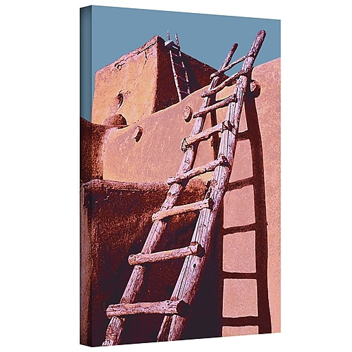"ArtWall 'The Pueblo' Gallery-Wrapped Canvas 24"" x 32"" (0uhl100a2432w)"