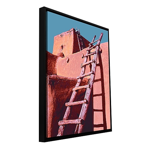 "ArtWall 'The Pueblo' Gallery-Wrapped Canvas 36"" x 48"" Floater-Framed (0uhl100a3648f)"
