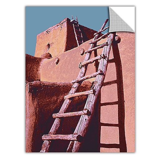 "ArtWall 'The Pueblo' Art Appeelz Removable Wall Art Graphic 24"" x 32"" (0uhl100a2432p)"