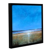 "ArtWall 'Blue Sky Day' Gallery-Wrapped Canvas 24"" x 24"" Floater-Framed (0gro005a2424f)"