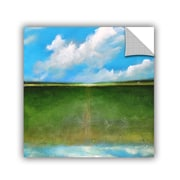 "ArtWall 'Cloud Reflections' Art Appeelz Removable Wall Art Graphic 24"" x 24"" (0gro006a2424p)"