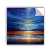 """ArtWall """"Inspiration Beach 2"""" Art Appeelz Removable Wall Art Graphic 36"""" x 36"""" (0gro018a3636p)"""