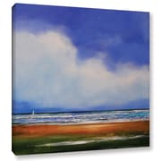 "ArtWall 'Smooth Sailing 2' Gallery-Wrapped Canvas 36"" x 36"" (0gro047a3636w)"