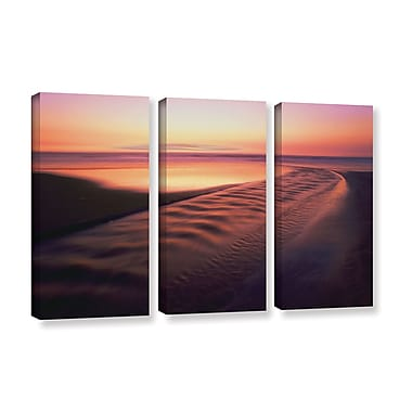 ArtWall 'Back To The Sea' 3-Piece Gallery-Wrapped Canvas Set 36