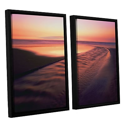 ArtWall 'Back To The Sea' 2-Piece Canvas Set 24