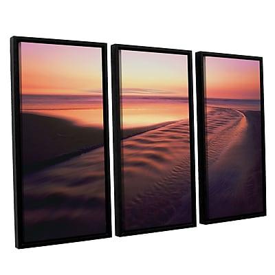 ArtWall 'Back To The Sea' 3-Piece Canvas Set 36
