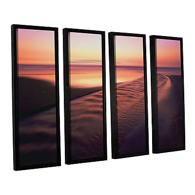ArtWall 'Back To The Sea' 4-Piece Canvas Set 36