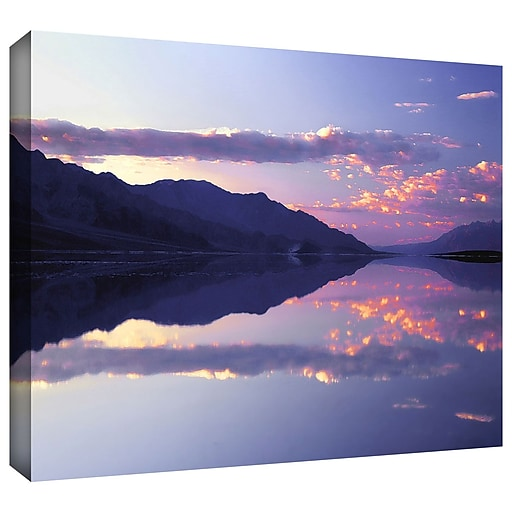 """ArtWall 'Bad Water Sunset' Gallery-Wrapped Canvas 36"""" x 48"""" (0uhl102a3648w)"""