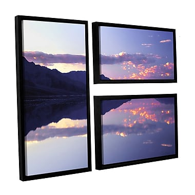 ArtWall 'Bad Water Sunset' 3-Piece Canvas Flag Set 36