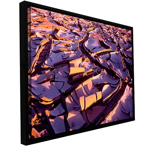 "ArtWall ""Barro Magnifico"" Gallery-Wrapped Canvas 36"" x 48"" Floater-Framed (0uhl103a3648f)"