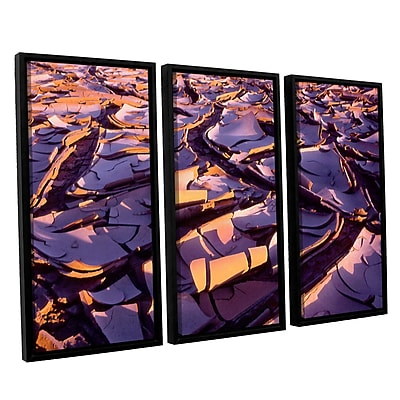 ArtWall 'Barro Magnifico' 3-Piece Canvas Set 36