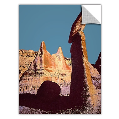 ArtWall 'Bisti Badland' Art Appeelz Removable Wall Art Graphic 14
