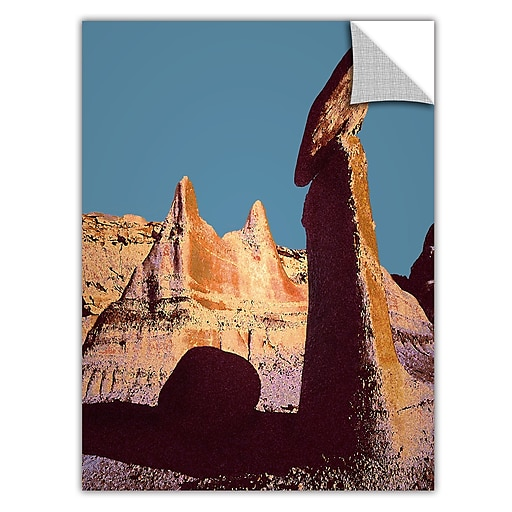"ArtWall 'Bisti Badland' Art Appeelz Removable Wall Art Graphic 18"" x 24"" (0uhl105a1824p)"