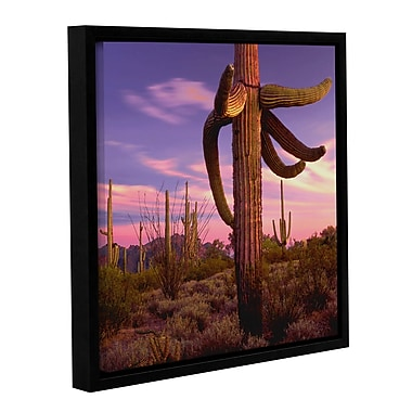 ArtWall 'Border Twilight' Gallery-Wrapped Canvas 36