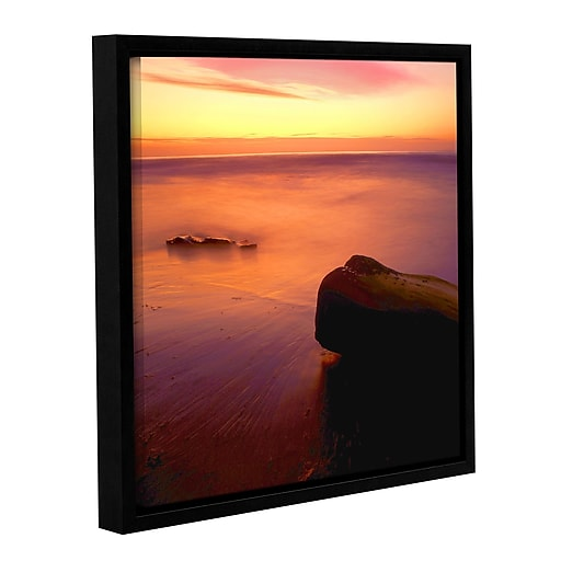 """ArtWall """"Deep Twilight"""" Gallery-Wrapped Canvas 36"""" x 36"""" Floater-Framed (0uhl108a3636f)"""